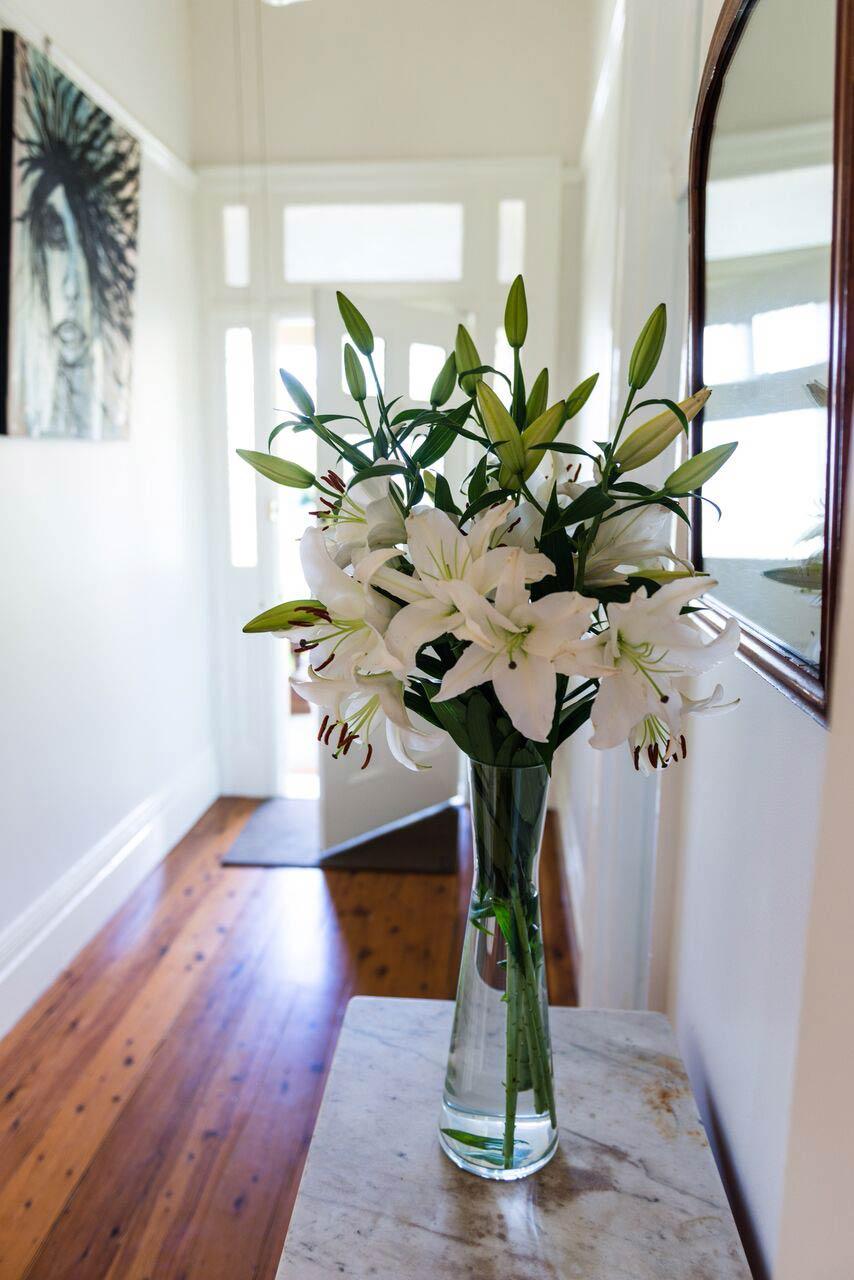Hallway vase